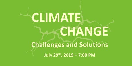 Climate Change: Challenges and Solutions tickets