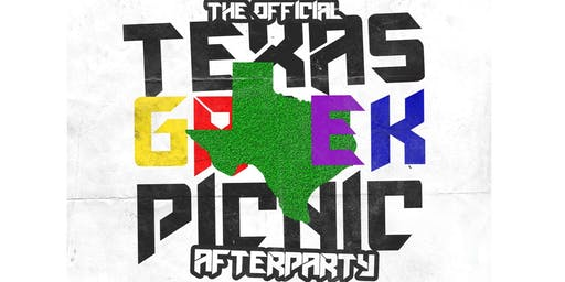THE OFFICIAL TEXAS GREEK PICNIC AFTER PARTY AT THE ADDRESS | NO COVER TIL 10PM | FOR INFO/SECTIONS TXT - 832.993.4226