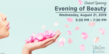 Grand Opening Evening of Beauty tickets