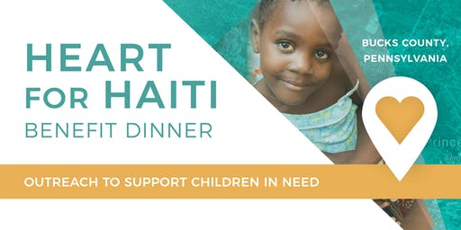 Heart for Haiti Benefit Dinner: Bucks County Pennsylvania