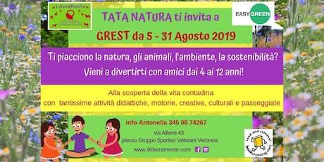 GREST 2019 con Tata Natura biglietti