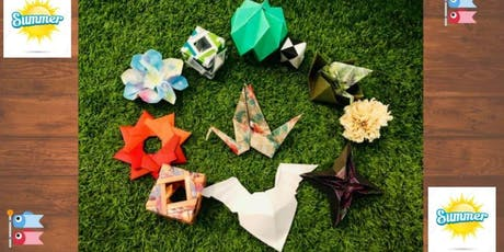 Enjoy your holidays with origami bilhetes
