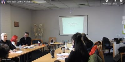Take Back Control - Goal Achieving Workshop