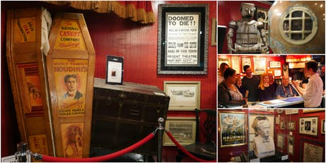 Magic Tour & Demo @ Fantasma Magic's Harry Houdini Museum tickets