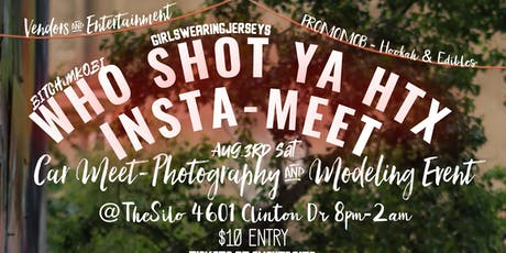 WHO SHOT YA HTX tickets
