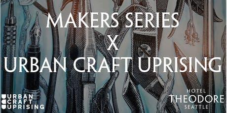 Makers Series X Urban Craft Uprising: DIY Rose Spa tickets