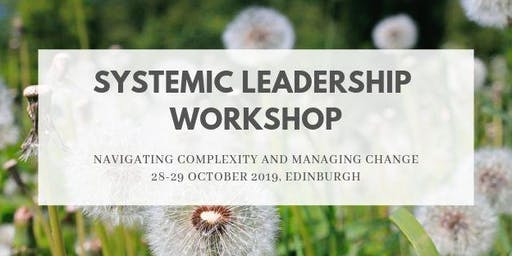 Systemic Leadership Workshop 28-29 October 2019