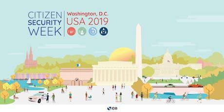 Citizen Security Week 2019 tickets