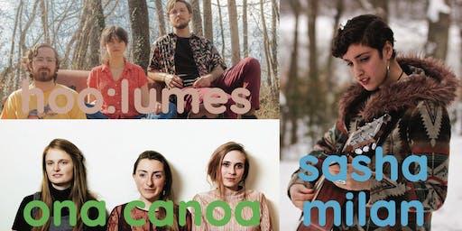Ona Canoa / Hoo:Lumes / Sasha Milan