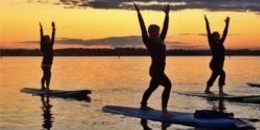 Sunset Standup Paddle Board YOGA