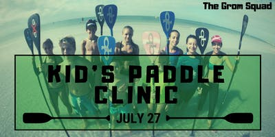 Kid's Stand Up Paddleboard Clinic