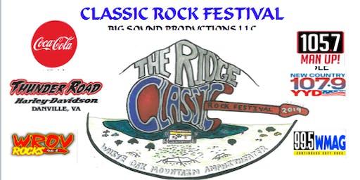 """The Ridge"" Classic Rock Festival 2019"