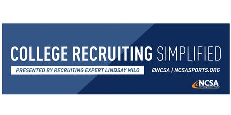 College Sports Recruiting 101 Presented by Recruiting Expert Lindsay Milo tickets