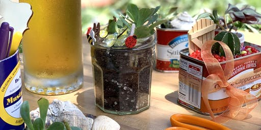 Adult Craft Night: Upcycled Succulent Planters
