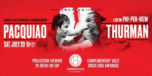 Pacquiao vs Thurman Viewing Party