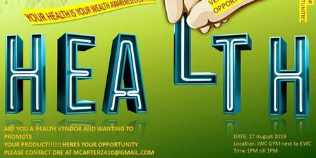 Your Health is Your Wealth Awareness Event tickets
