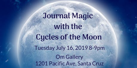 Journal Magic with the Cycles of the Moon tickets