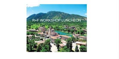 R+F Workshop Training