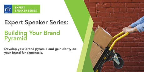 RIC Expert Speaker Series: Building Your Brand  tickets