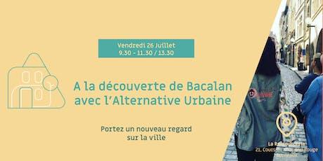 A la découverte de Bacalan avec l'Alternative Urbaine ! billets