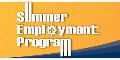 14TH ANNUAL SUMMER EMPLOYMENT LUNCHEON 2019 - MSJ INVITATION