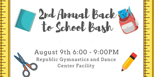 2nd Annual Back to School Bash