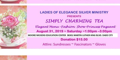 Ladies of Elegance Silver Ministry's SIMPLY CHARMING TEA tickets