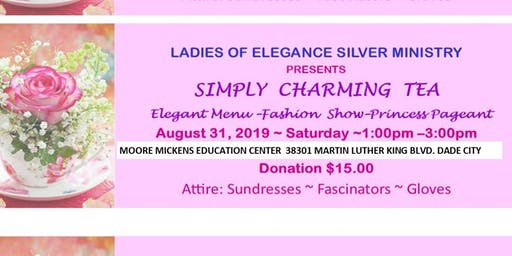 Ladies of Elegance Silver Ministry's SIMPLY CHARMING TEA