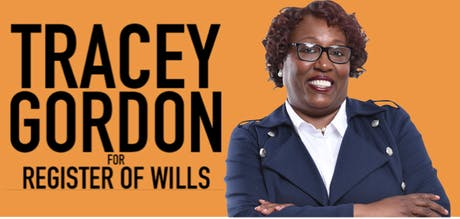 Tracey Gordon for Register of Wills tickets