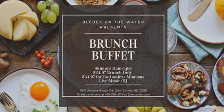Bleues Brunch Buffet tickets