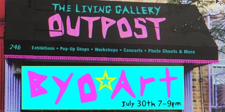 BYO ART to The Outpost! tickets