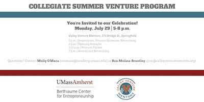 Collegiate Summer Venture Program Celebration