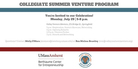 Collegiate Summer Venture Program Celebration tickets