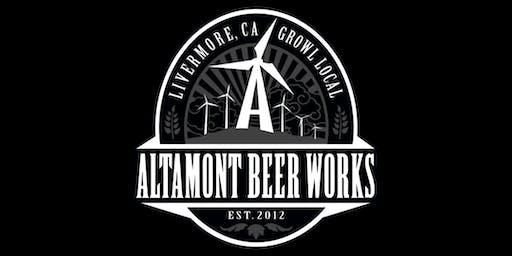Altamont Beer Works School of Beer - July 24th, 2019 6:30pm-7:30pm