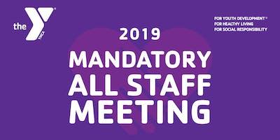 Y All Staff Meeting