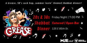 SUMMER LOVIN' GREASE Friday Night Dinner MJE East 20s...