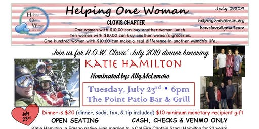 HOW Clovis Dinner Honoring Katie Hamilton