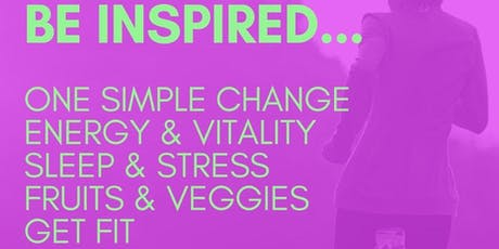 Be Inspired To Take Healthy Back tickets