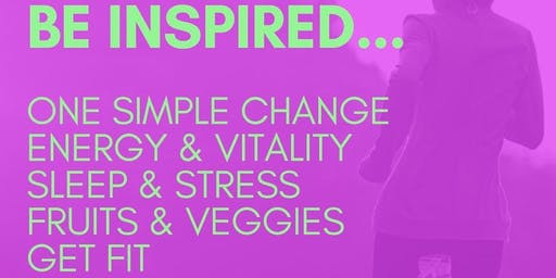 Be Inspired To Take Healthy Back