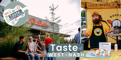 Taste of West Nashville 2019 tickets
