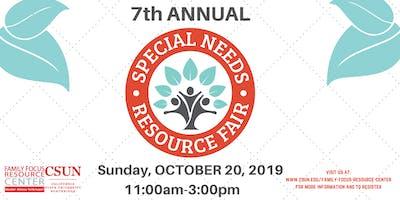 CSUN Family Focus Special Needs Resource Fair