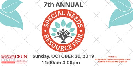 CSUN Family Focus Special Needs Resource Fair tickets