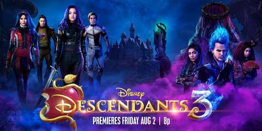 Disney: Descendants 3 Event