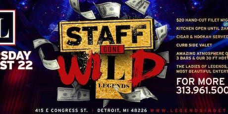 Staff Gone WILD! tickets