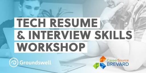 Tech Resume and Interview Workshop