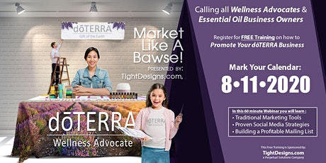 Marketing Your doTERRA Business tickets