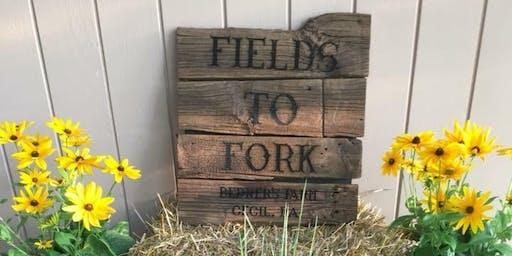 Fields to Fork Wine Dinner