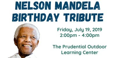 Nelson Mandela Birthday Tribute