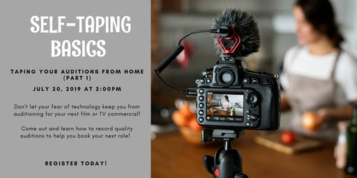 Self Taping Basics - Part 1 (Taping Your Auditions at Home)