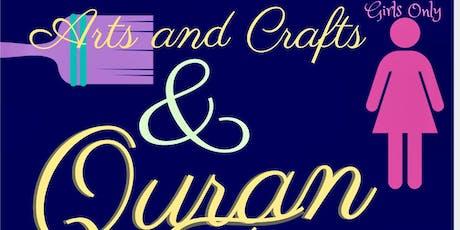 Art & Quran class (Girls Program)  tickets